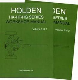 Holden HK - HT - HG Workshop Manual SHE1