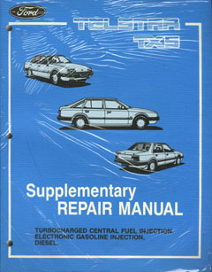Ford TX5 AS Turbo EFI and Diesel Repair Manual